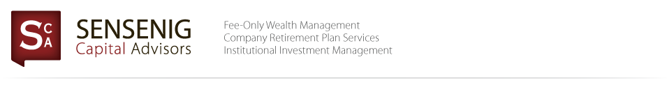 Sensenig Capital - Fee-Only Wealth Management - Philadelphia, PA, King of Prussia, PA, Collegeville, PA